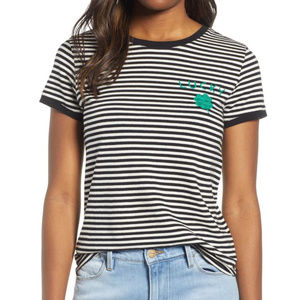 Lucky Brand St. Patrick's Striped T-Shirt Size Med